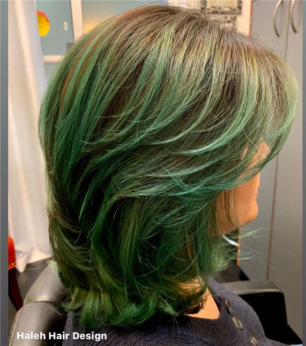 Waterfall Teal Balayage