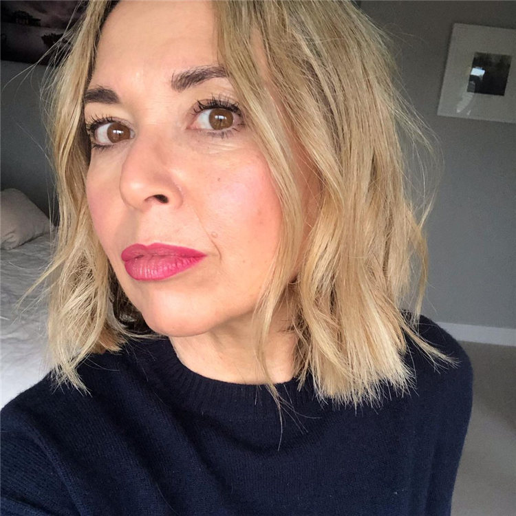 Blonde Over 50 Style
