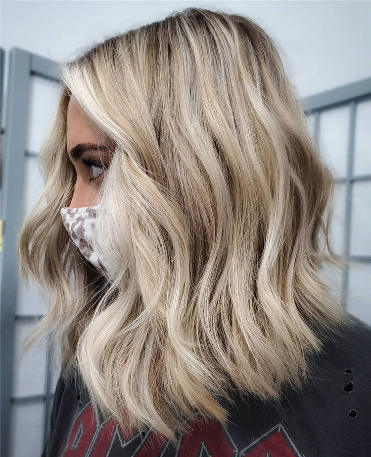 Fresh Short Blonde Hairstyles and Haircuts That Makes You Pretty 07