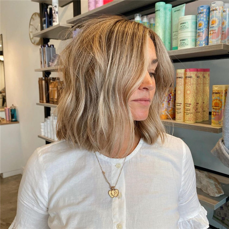 Fresh Short Blonde Hairstyles and Haircuts That Makes You Pretty 09