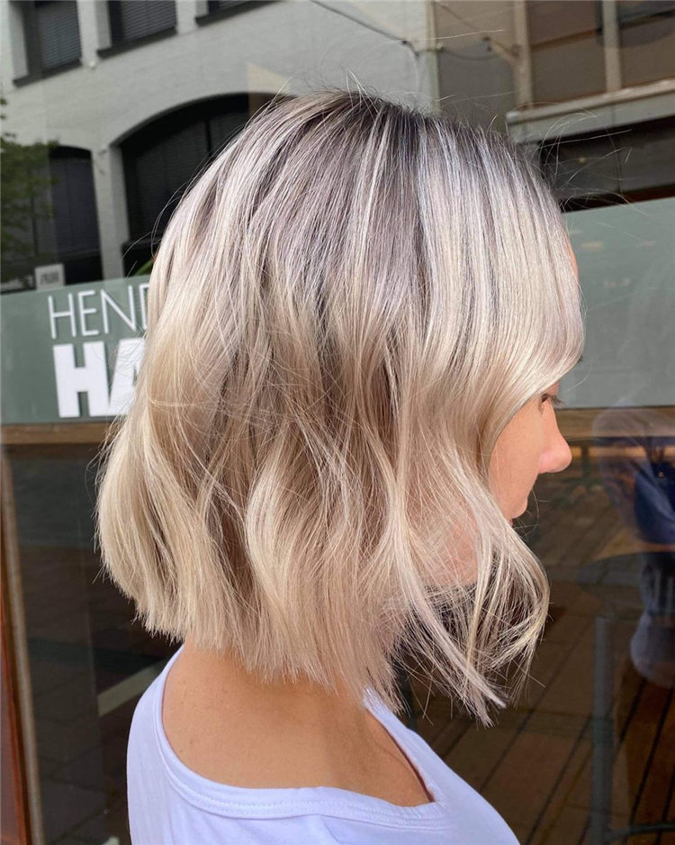 Fresh Short Blonde Hairstyles and Haircuts That Makes You Pretty 10
