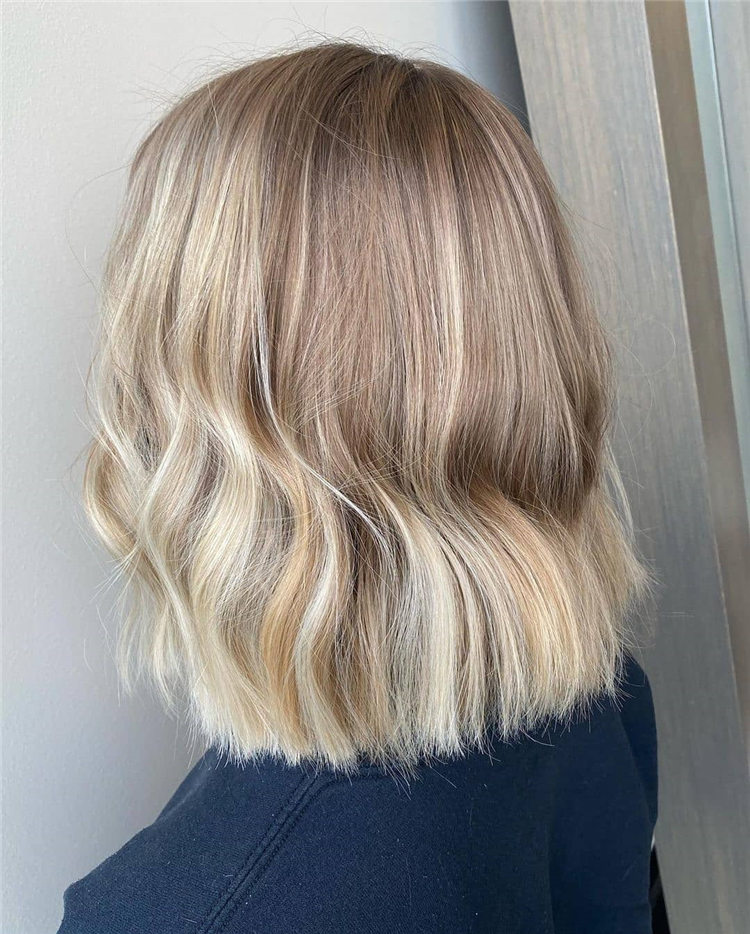 Fresh Short Blonde Hairstyles and Haircuts That Makes You Pretty 21