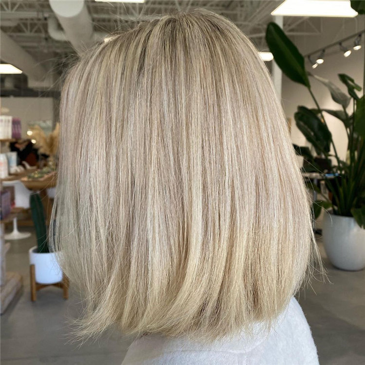 Fresh Short Blonde Hairstyles and Haircuts That Makes You Pretty 27