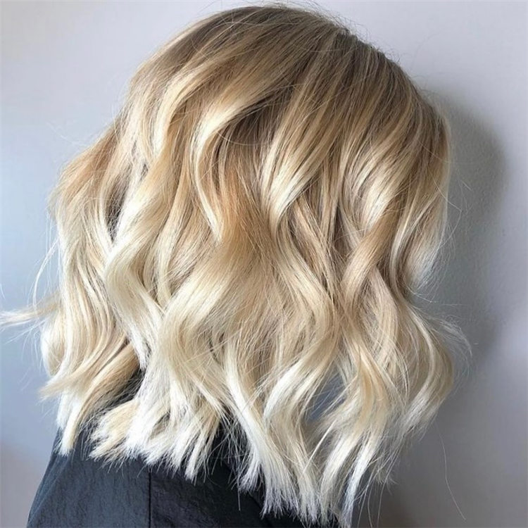 Fresh Short Blonde Hairstyles and Haircuts That Makes You Pretty 29