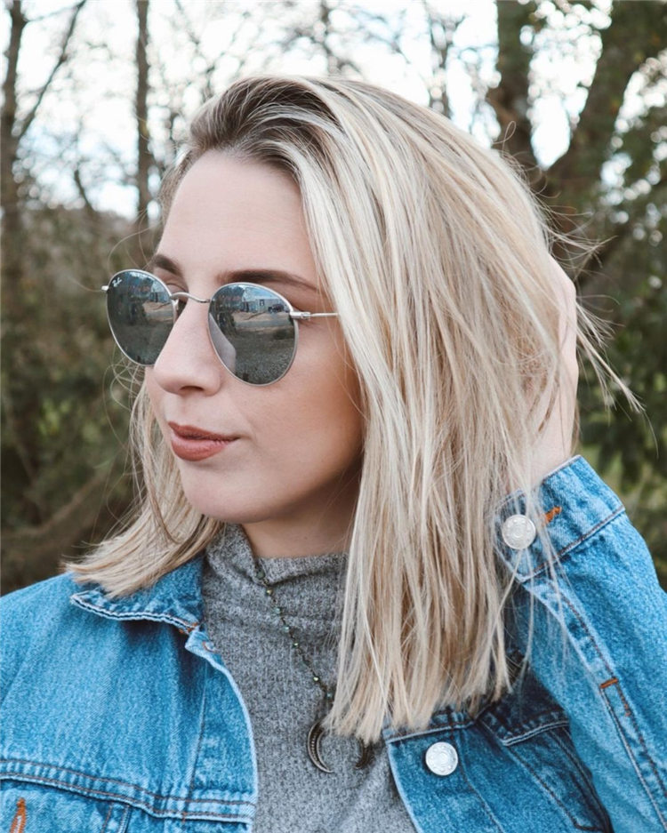 Fresh Short Blonde Hairstyles and Haircuts That Makes You Pretty 33