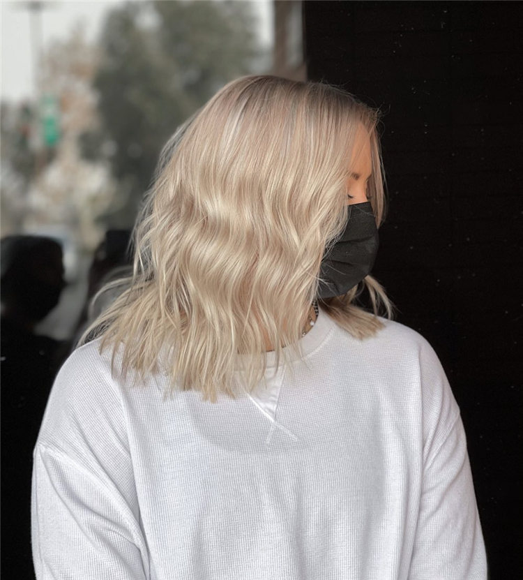 Fresh Short Blonde Hairstyles and Haircuts That Makes You Pretty 34