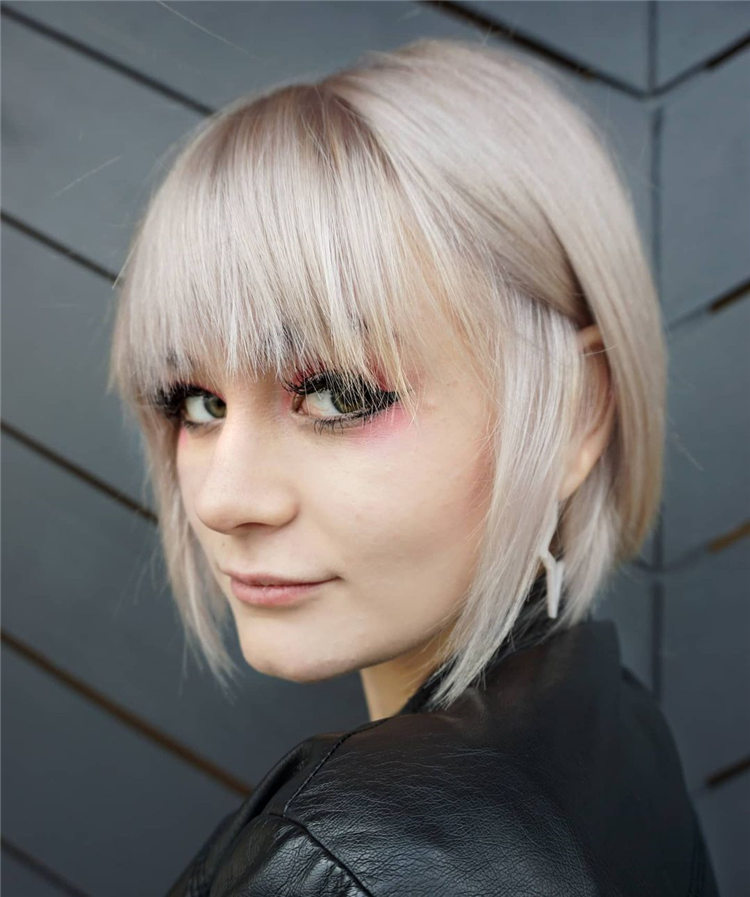 Fresh Short Blonde Hairstyles and Haircuts That Makes You Pretty 36