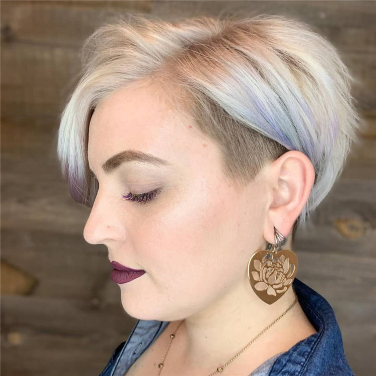 Fresh Short Blonde Hairstyles and Haircuts That Makes You Pretty 39
