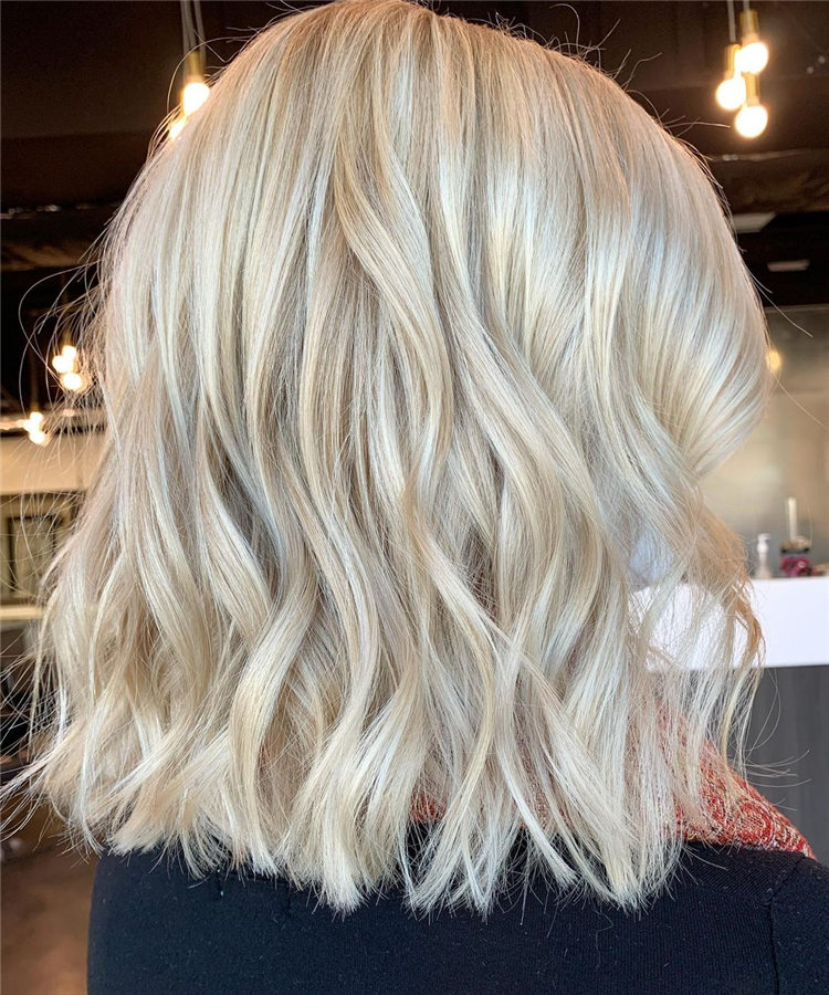 Fresh Short Blonde Hairstyles and Haircuts That Makes You Pretty 43