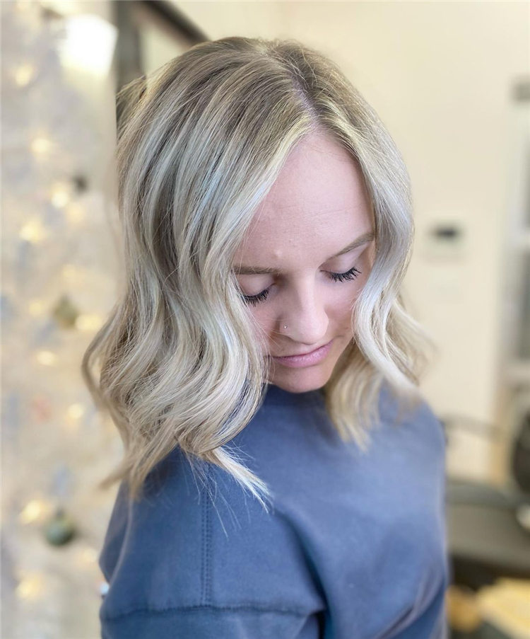 Fresh Short Blonde Hairstyles and Haircuts That Makes You Pretty 44