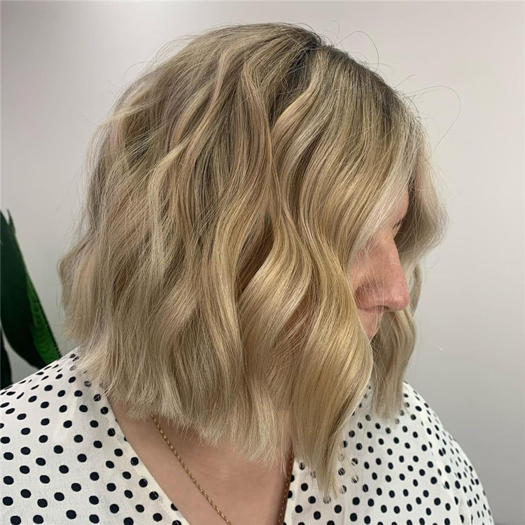 Fresh Short Blonde Hairstyles and Haircuts That Makes You Pretty 48