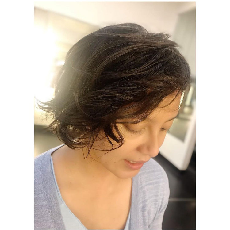 Low Maintenance Short Hairstyles That Will Give Your Spirals New Life 04