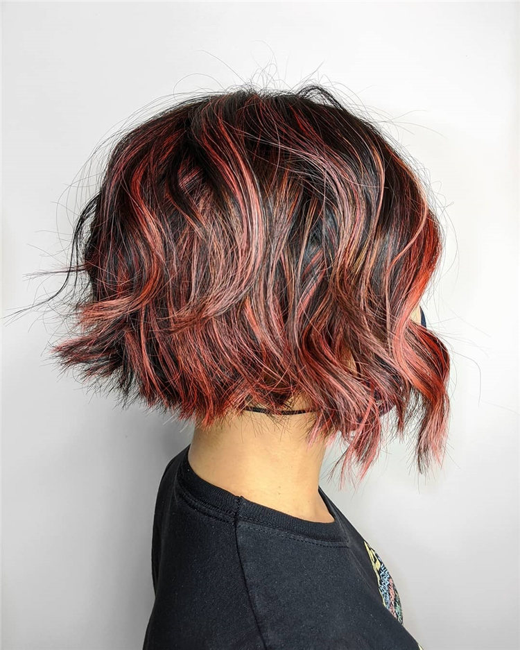 Low Maintenance Short Hairstyles That Will Give Your Spirals New Life 44