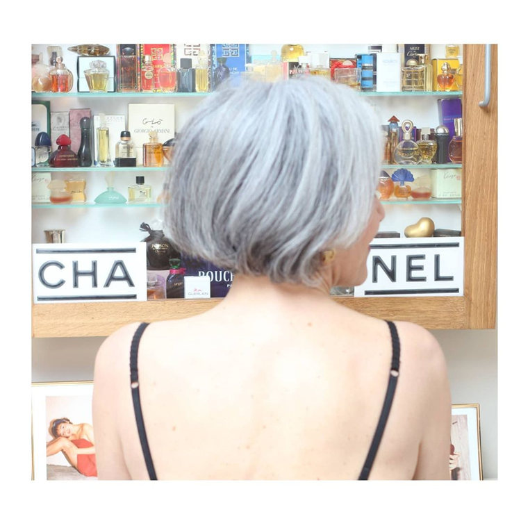 Natural Silver Hair for Over 50