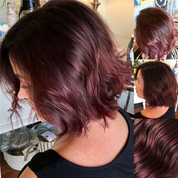 Short Brown Hair with Highlights to Look Gorgeous 02