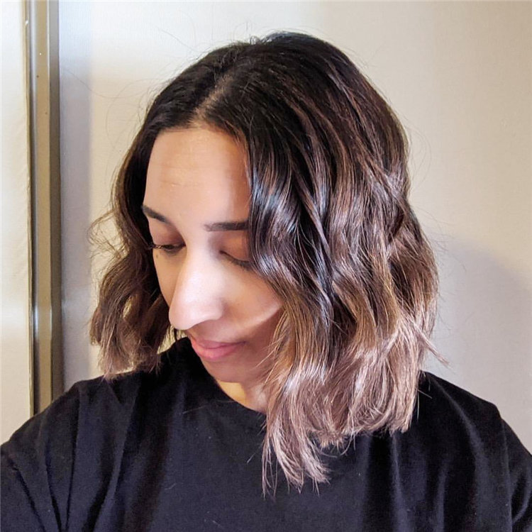 Short Brown Hair with Highlights to Look Gorgeous 05