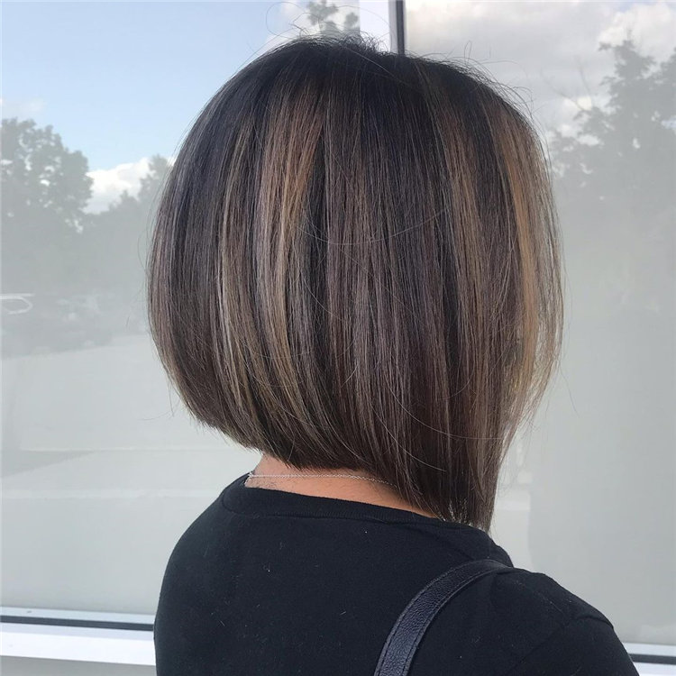 Short Brown Hair with Highlights to Look Gorgeous 07