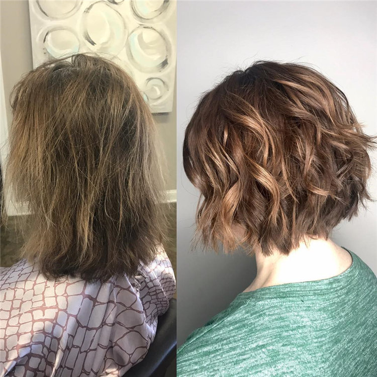 Short Brown Hair with Highlights to Look Gorgeous 20