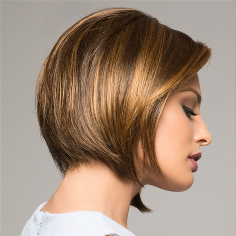 Short Brown Hair with Highlights to Look Gorgeous 29