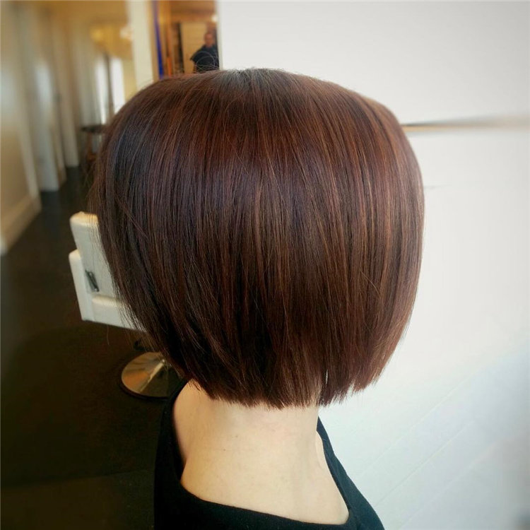 Short Brown Hair with Highlights to Look Gorgeous 39