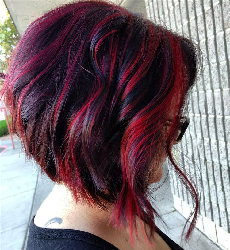 A line Bob with Highlights 1