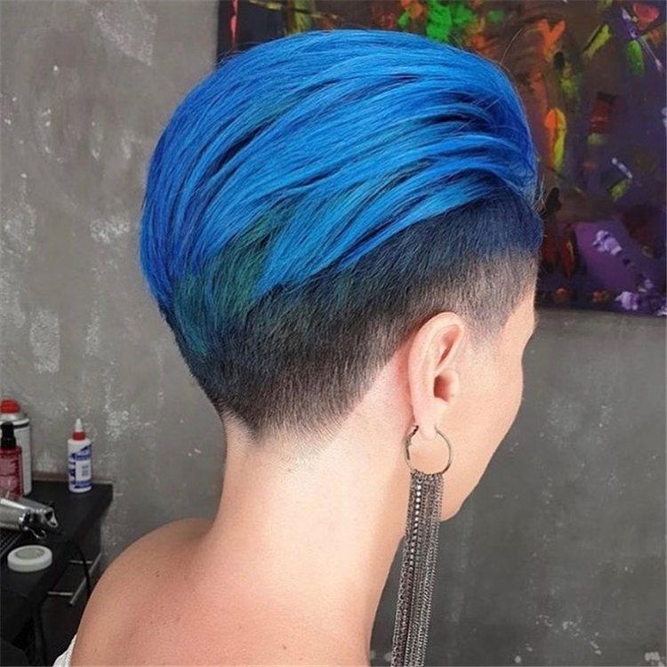 Blue With The Fade