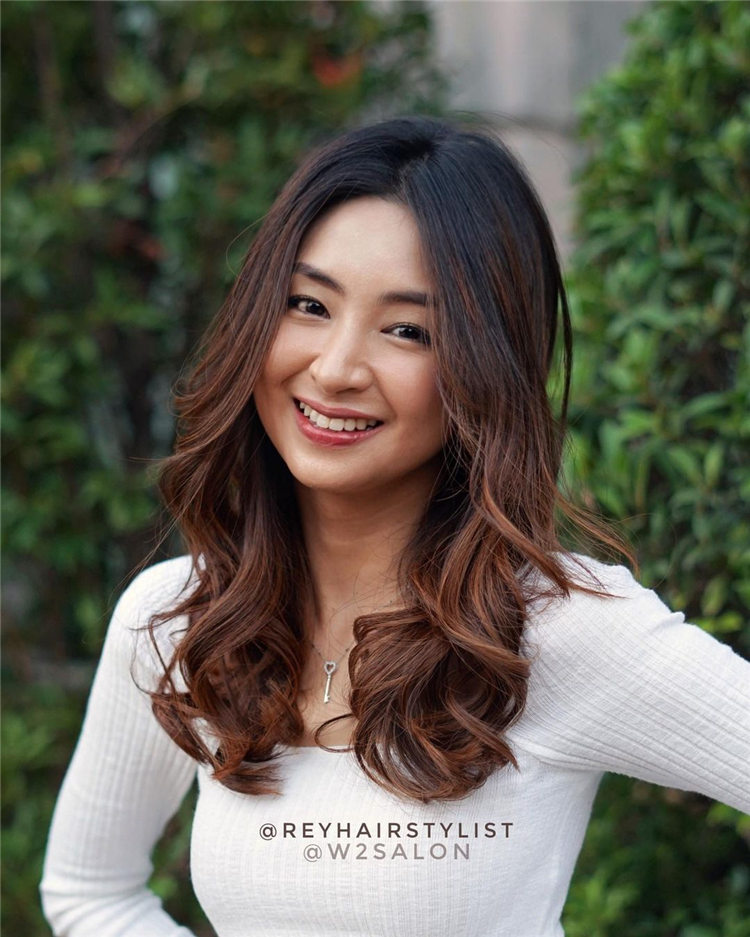 Korean Medium Length Hairstyles