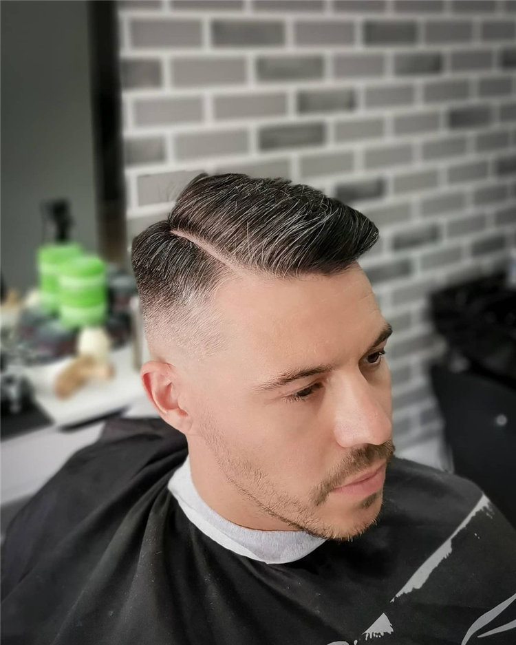 Mid Fade for Men
