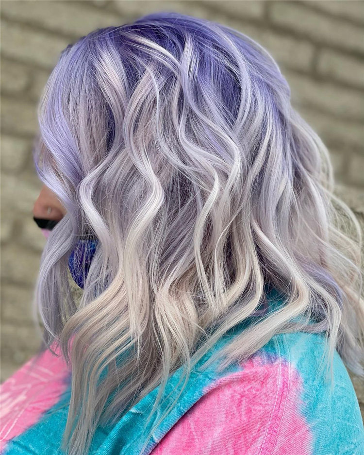 Purple Hair Shadow Root