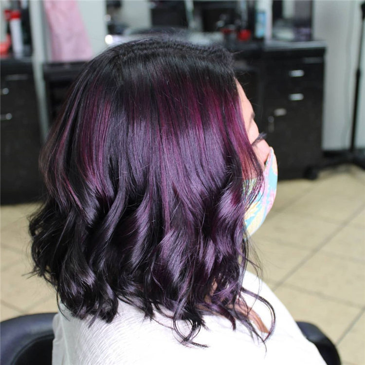Short Purple Hair 3