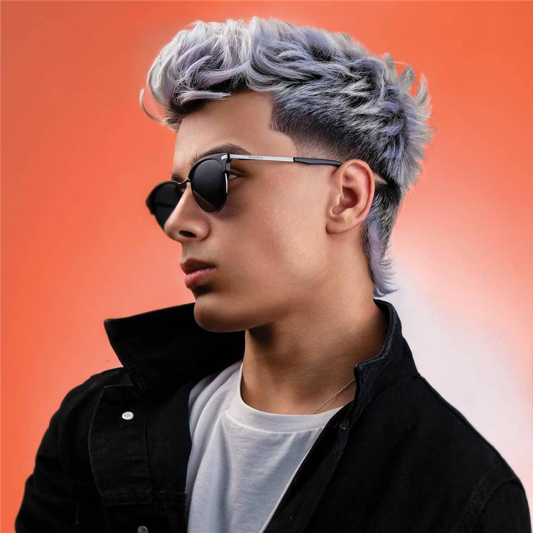Silver Low Fade