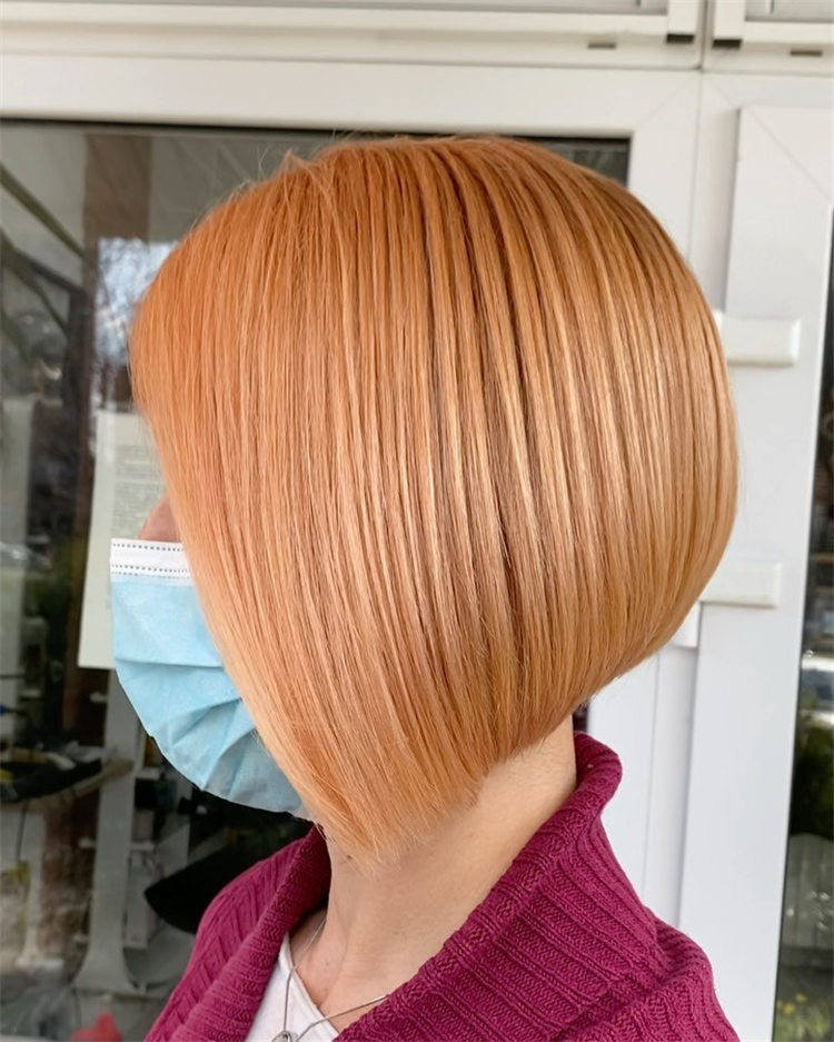 Blonde Bob Haircut 4
