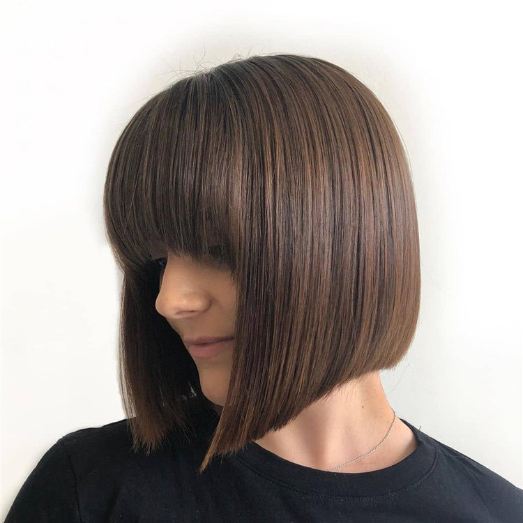 Bob Haircuts That Will Look Amazing In Every Season 41