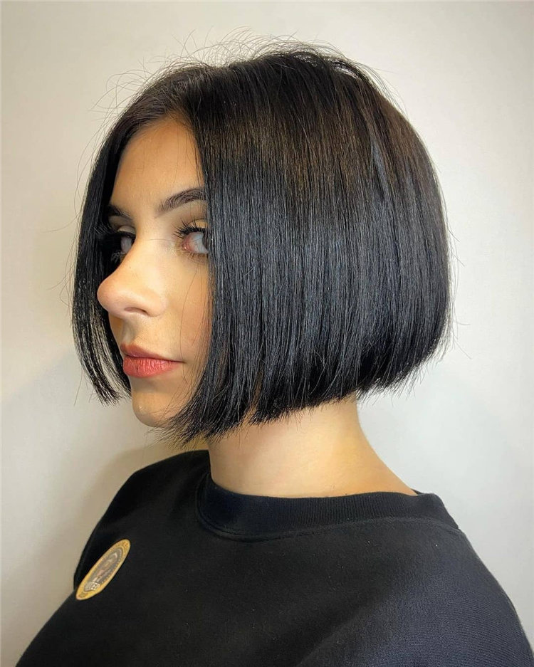 Bob Haircuts That Will Look Amazing In Every Season 47
