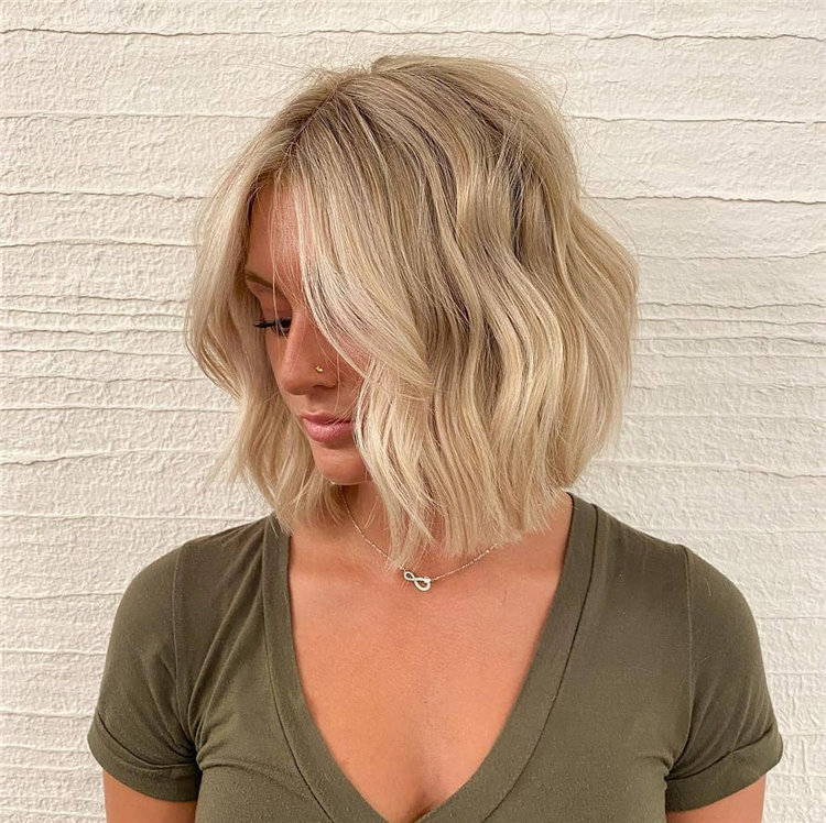 Bob Haircuts That Will Look Amazing In Every Season 48