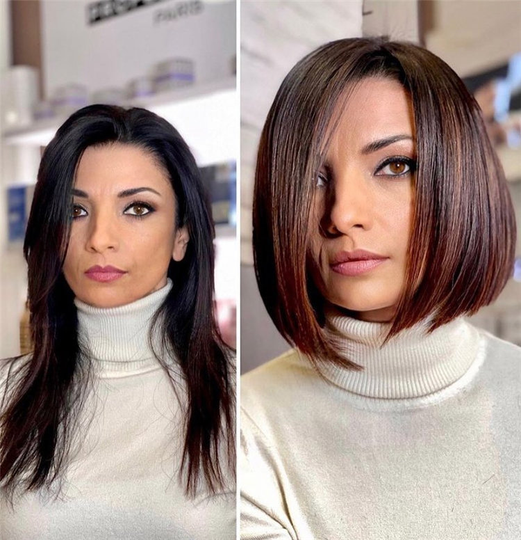Bob Haircuts That Will Look Amazing In Every Season 64
