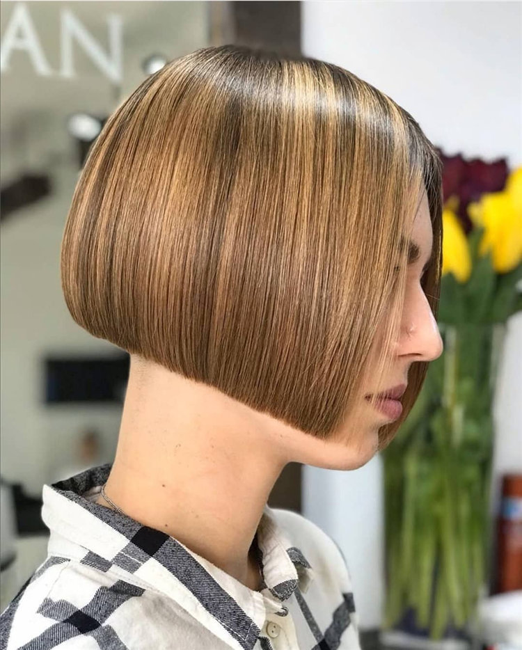 Bob Haircuts That Will Look Amazing In Every Season 71