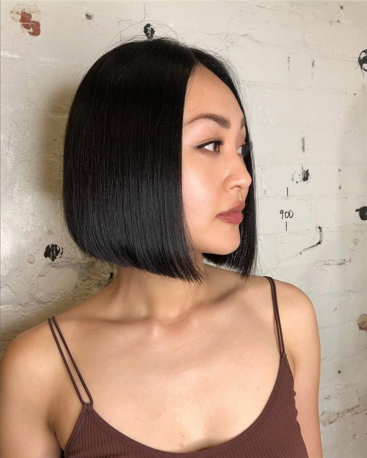 Bob Haircuts That Will Look Amazing In Every Season 79