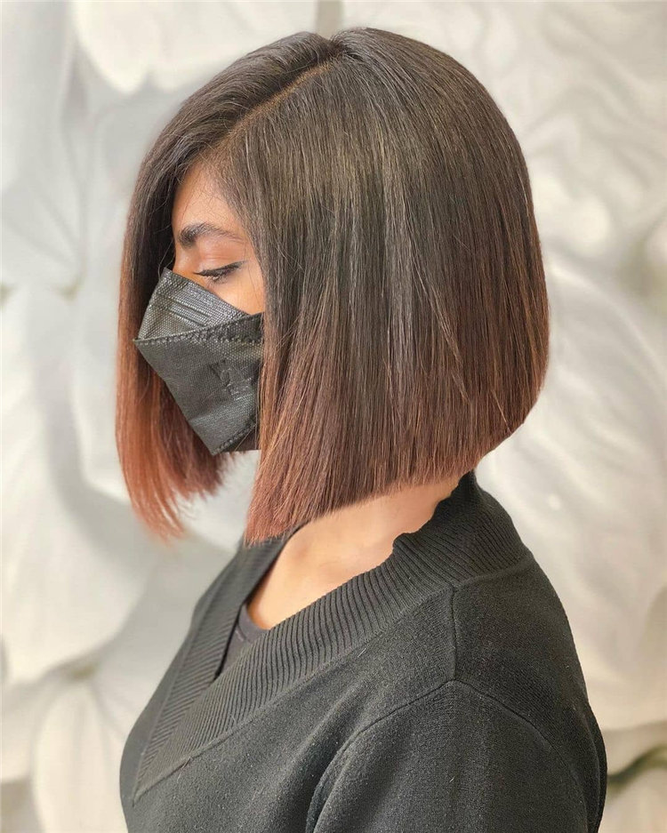 Bob Haircuts That Will Look Amazing In Every Season 87