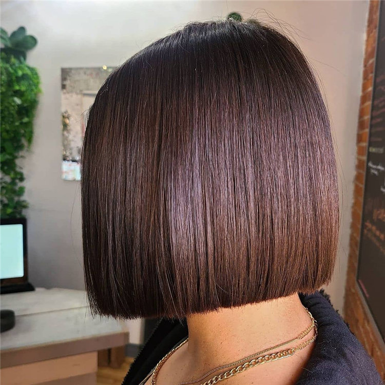 Bob Haircuts That Will Look Amazing In Every Season 88