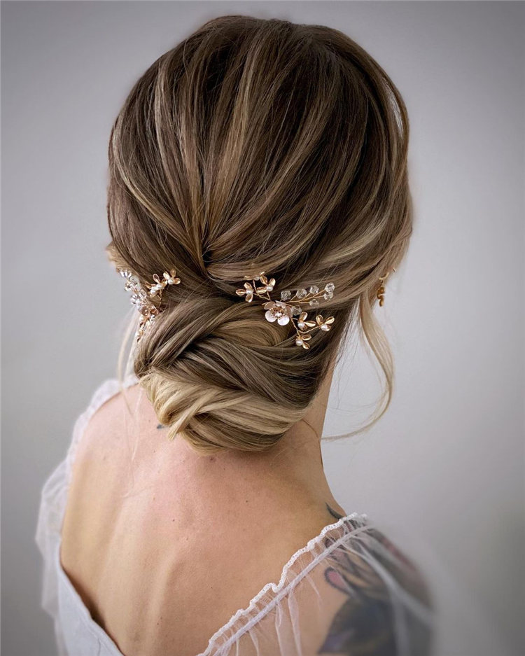 Classic Updo with Buns