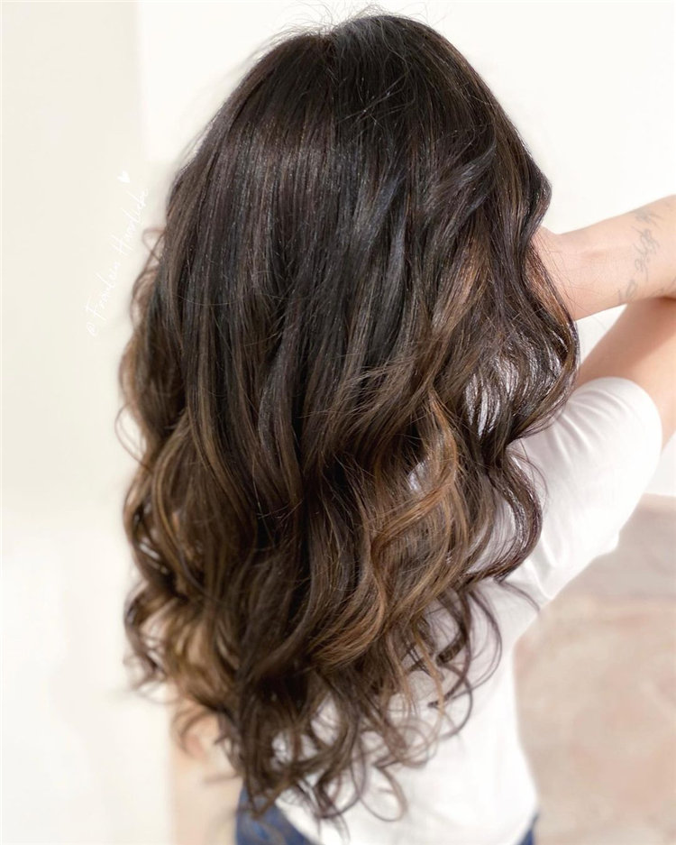 Natural Brown Hairstyle
