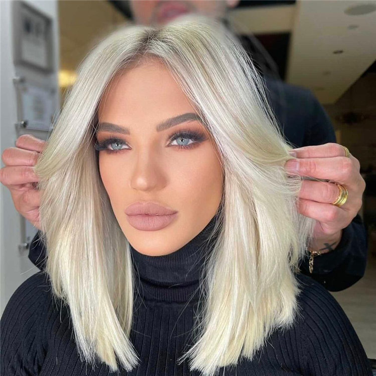 Platinum Blonde Hairstyle Ideas to Look Gorgeous 01