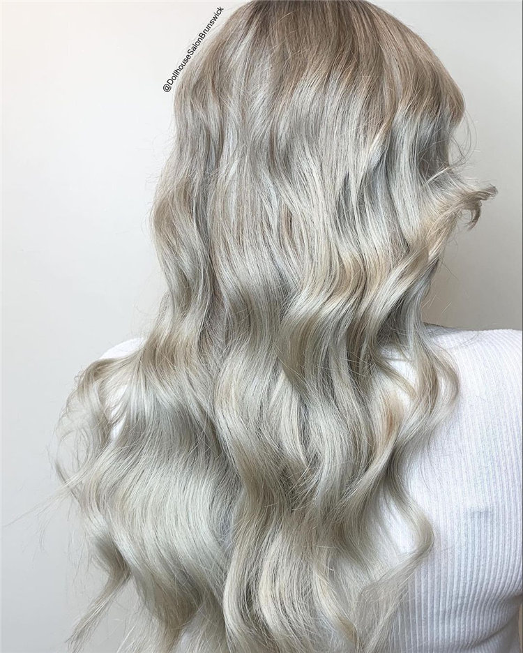 Platinum Blonde Hairstyle Ideas to Look Gorgeous 08