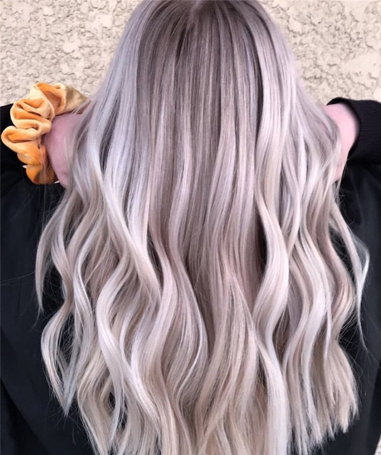 Platinum Blonde Hairstyle Ideas to Look Gorgeous 14