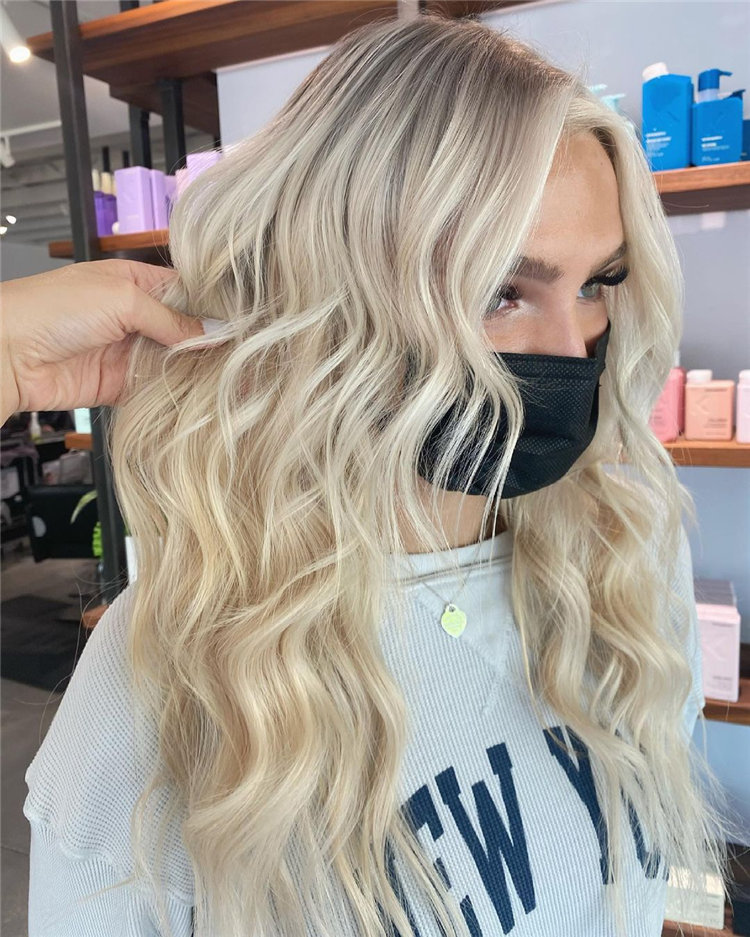 Platinum Blonde Hairstyle Ideas to Look Gorgeous 25