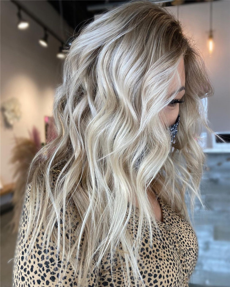 Platinum Blonde Hairstyle Ideas to Look Gorgeous 35