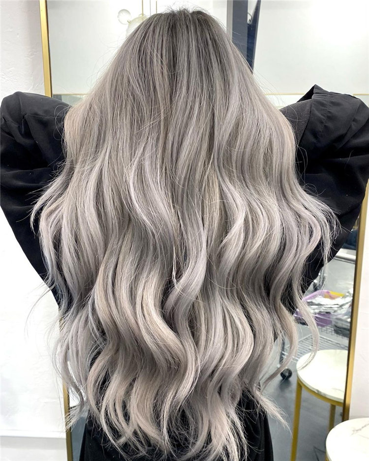 Platinum Blonde Hairstyle Ideas to Look Gorgeous 43