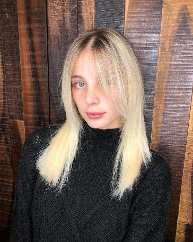 Platinum Blonde Hairstyle Ideas to Look Gorgeous 46