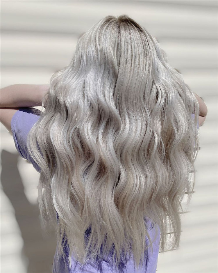 Platinum Blonde Hairstyle Ideas to Look Gorgeous 48